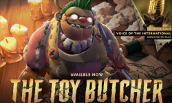 Pudge Toy Butcher Persona and the Voice of the International announcer pack have arrived