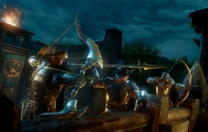 Amazon's New World boasts a massive, 100-player 'War' with magic and muskets
