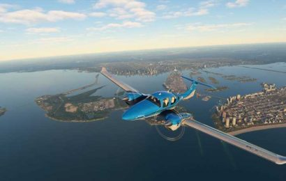 Microsoft Flight Simulator Players Are Flying Into Hurricane Laura