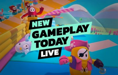 Fall Guys: Ultimate Knockout Beta – New Gameplay Today Live