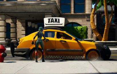 Details on the new Fortnite Taxi Driver 'Buckle Up' LTM surface
