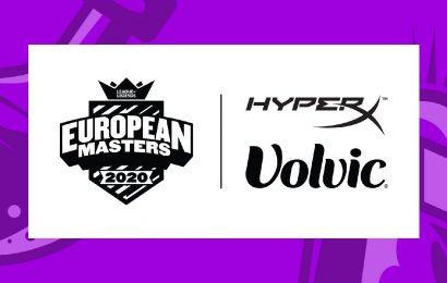 European Masters finds support for the summer in HyperX and Volvic Germany – Esports Insider