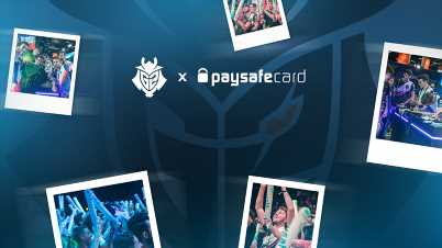 G2 Esports Extends paysafecard Partnership for Fifth Consecutive Year