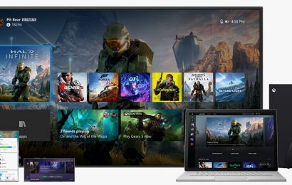 Microsoft Shares a First Look at the Xbox Series X Dashboard