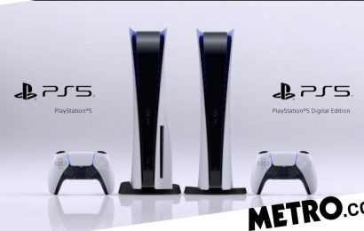 PS5 console box contents and model numbers leaked: Digital Edition has 825GB SSD