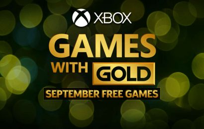 September 2020's Free Xbox Live Games With Gold