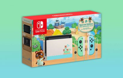 Animal Crossing Switch Console In Stock Right Now