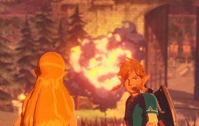 Hyrule Warriors: Age of Calamity Has Bonus If You Have Zelda: Breath Of The Wild Save File