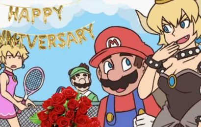 """Bowsette"" and Mario's Unlikely Romance Turns Two Years Old"