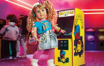 The newest American Girl doll is a Pac-Man champion and video game developer