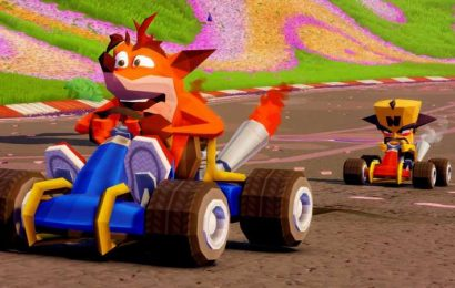 Crash Team Racing And The Secret PlayStation Drawer