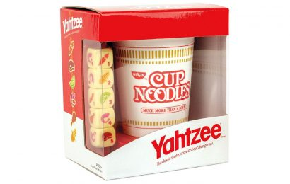 Yahtzee Serves Up A Cup Noodles Edition