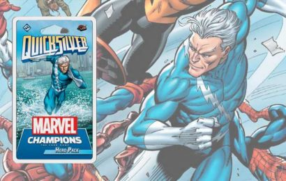 Marvel Champions Previews Upcoming Quicksilver Pack
