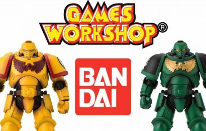 Bandai Gives Limited Window To Order Space Marine Action Figures