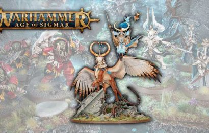 Age Of Sigmar's Lumineth Realm-Lords New Releases Available to Preorder