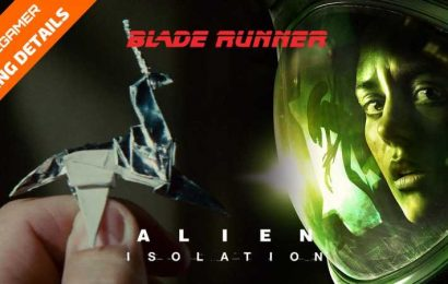 Gaming Detail: Alien Isolation Has Origami From Blade Runner