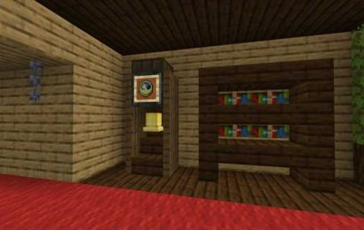 Minecraft: How To Build A Functioning Grandfather Clock For Your Home