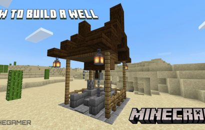 Minecraft: How To Build A Functioning Well