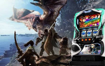 A New Monster Hunter Has Been Announced (Yay) For Pachinko Machines (Nay)