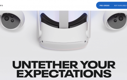 Oculus Quest 2 Pre-Orders Backdated To November In US