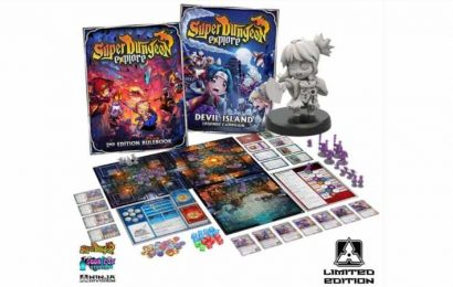 Ninja Division Announces Super Dungeon: Explore – Devil Island Starter Set Ready For Preorders