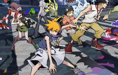 The World Ends With You Anime Gets Beautiful New Visual