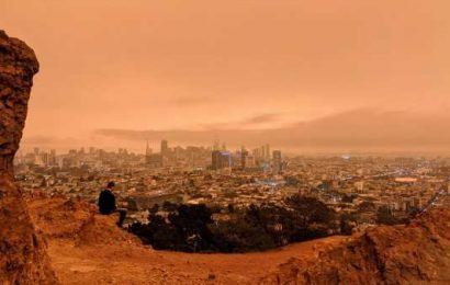 Why San Francisco had an apocalyptic orange sky