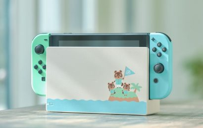 Animal Crossing: New Horizons-themed Nintendo Switch is on sale again