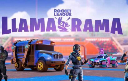 Fortnite's Battle Bus Can Be Played In Rocket League Next Week