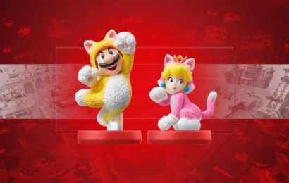 Nintendo Announces Cat Mario And Cat Peach Amiibo Figures
