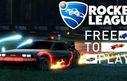Rocket League Will Go Free-To-Play On September 23