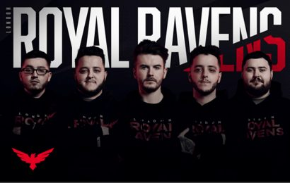 The London Royal Ravens officially release most of their 2020 CDL roster