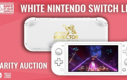 Win A Limited-Edition White Nintendo Switch Lite By Donating To Charity
