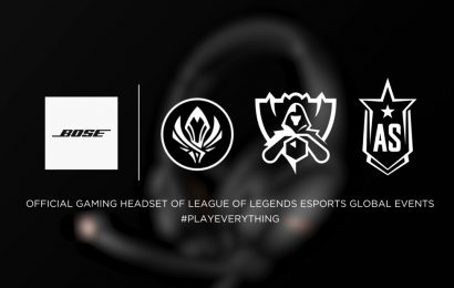 Bose becomes headset partner of League of Legends esports – Esports Insider