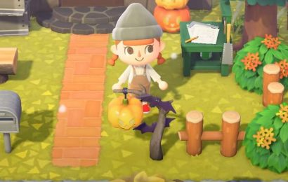 Animal Crossing: New Horizons Pumpkin And Spooky Set DIY Recipe Guide