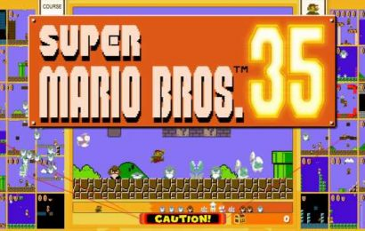 Super Mario Bros 35 May Have A Problem With Cheaters