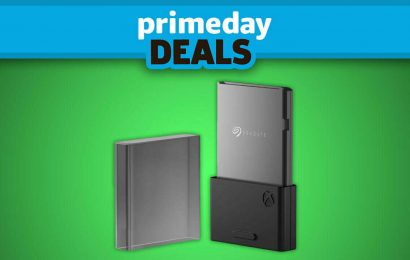 The Pricey Xbox Series X/S Expansion Card Gets A Prime Day Discount At Target
