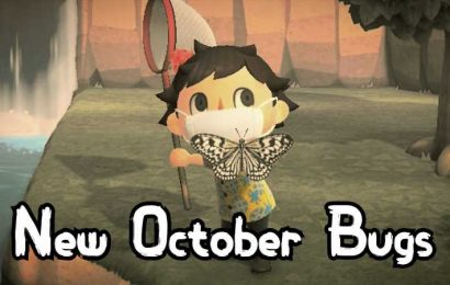 Animal Crossing: New Horizons – All The New Bugs In October