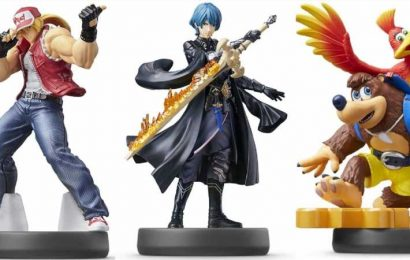 Amazon Japan Offers Closer Look At Byleth, Terry, and Banjo-Kazooie Amiibo Figures