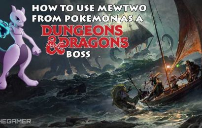 How To Use Pokémon's Mewtwo As A Dungeons & Dragons Boss