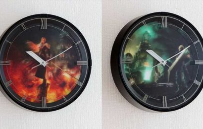Official Final Fantasy 7 Remake Clock Plays Songs On The Hour (Except In The Dark)