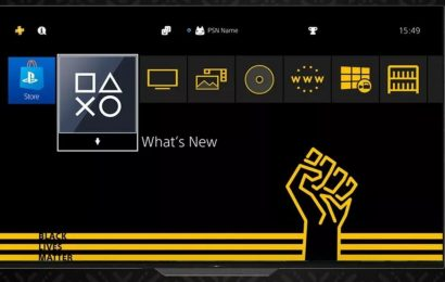 PS4 Gets Free Black Lives Matter Theme