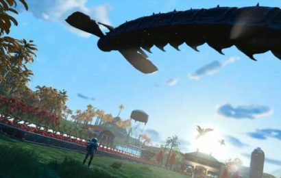 The No Man's Sky sandworm has fans searching for secrets