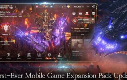 Lineage 2: Revolution Gets Its First Ever Expansion