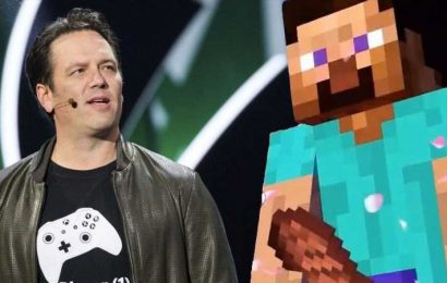 A Journalist Showed Phil Spencer A Picture Of Steve's Suggestive Minecraft Meat