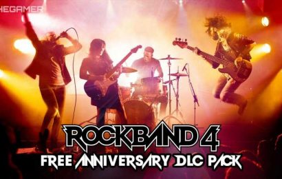 Rock Band 4 Gets A Surprise New Free Anniversary DLC Pack