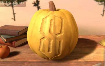 This pumpkin carving sim is a real delight