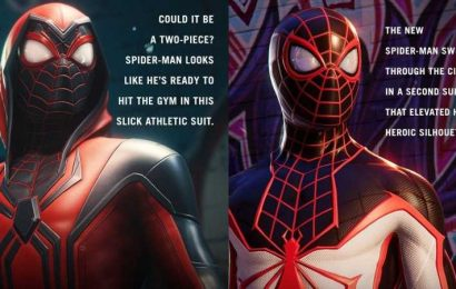 Insomniac Shows Off New Suits For Spider-Man: Miles Morales