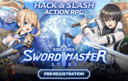 Hack And Slash RPG Sword Master Story Now Available for iOS & Android