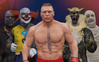 UFC 4 Adding Brock Lesnar And Various Halloween-Themed Cosmetics
